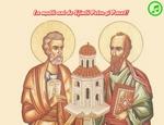 La multi ani de Sfintii Petru si Pavel!